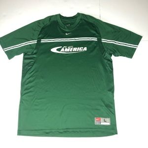 5a38a19ac85 Nike · rare Nike team FC America Soccer Jersey #7 Mexico